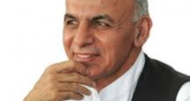 Afghan presidential candidate Ghani plans for a robust economy