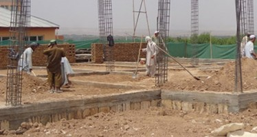 Work on construction of two school buildings begins in Roi-do-Aab district of Samangan