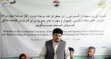 Capacity building for over 120 civil servants in Badakhshan