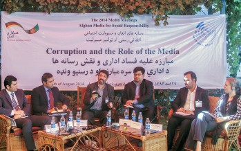 The role of the media in exposing and curbing corruption in Afghanistan