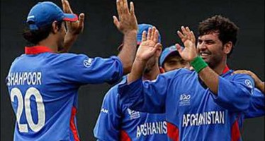 Afghanistan cricket team declared winner of the Zimbabwe series trophy