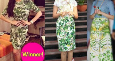 Jacqueline Fernandez looks best in tropical prints, say fans!