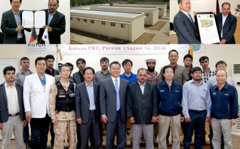 Korean constructed model farm handed over to local authorities in Parwan