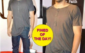 Why Aditya Roy Kapur needs to fire his stylist, if at all he has one!
