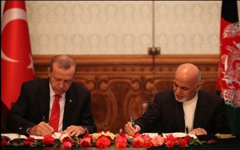 Afghanistan, Turkey ink strategic pact