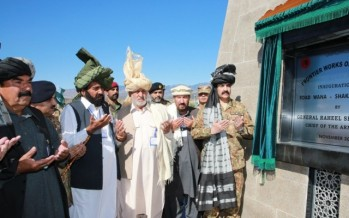 Key road linking Pakistan with Afghanistan opens in Waziristan