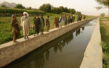 Development projects implemented in Kandahar