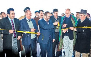 Teacher Training Centres get new buildings in Balkh