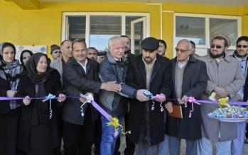 Women's training centre & market opens in Badakhshan with German funding