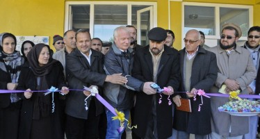 Women's training centre & market opens in Badakhshan with German funding