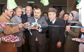A girls' high school in Mazar gets new school building