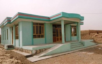 Community contributes to implementation of development projects in Balkh