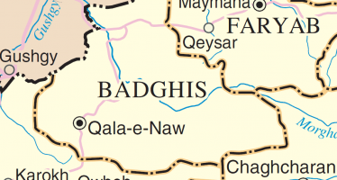 Development projects executed in Badghis Province