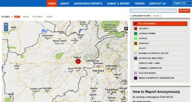 Platform established to report and track corruption cases in Afghanistan