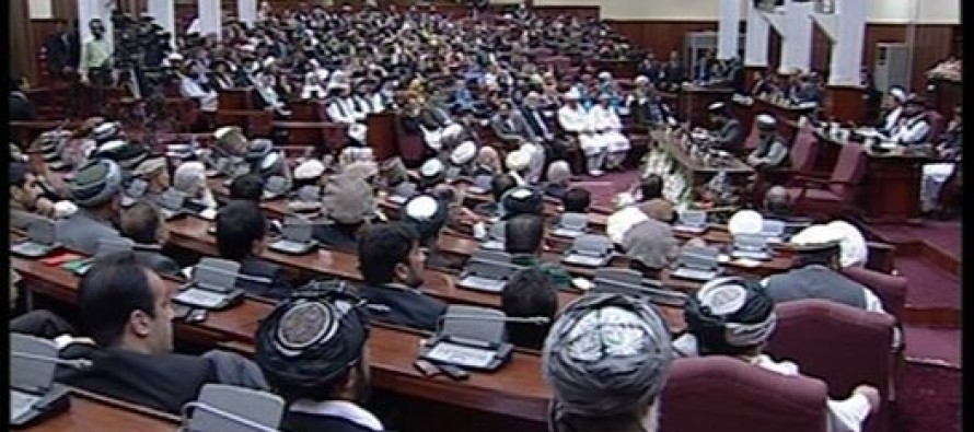 Afghan lawmakers unanimously reject draft national budget