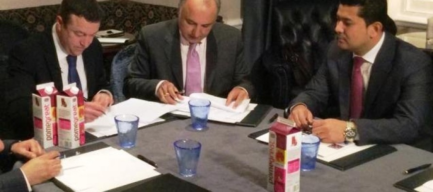 Afghanistan signs agreement with UK on export of pomegranate juice