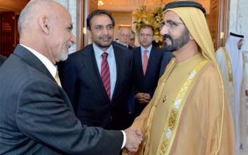 Afghanistan, UAE ink strategic partnership charter