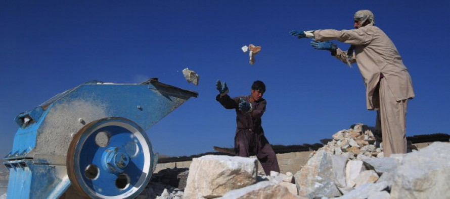 Afghanistan set to emerge as leading marble producer