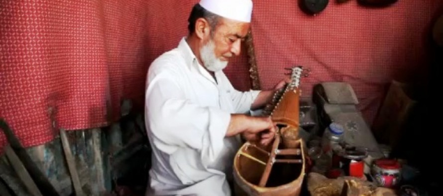 Story of a Rubab maker from Afghanistan