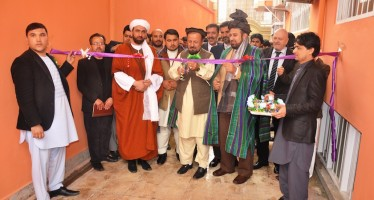 Afghan lawyers' association opens new offices in Kunduz with German, Dutch support