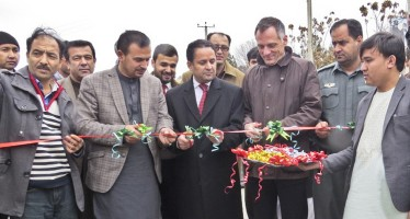 Germany completes 29 projects in Baghlan province
