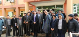 Construction work starts on new power grids for towns in Samangan with German funding