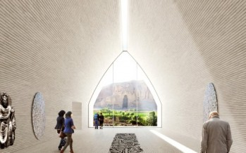 UNESCO announces the winning design scheme for the Bamiyan Cultural Center