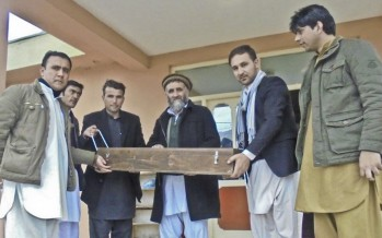 Quality testing equipment and trainings provided to Afghan Ministry of Public Works engineers
