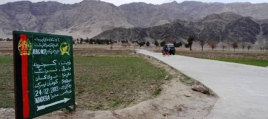 Basic development projects completed in Kunar province