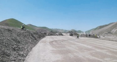 Major highway left incomplete due to insufficient budget and security issues
