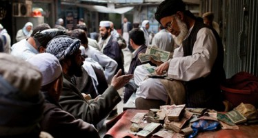 Afghani dips down against the US dollar