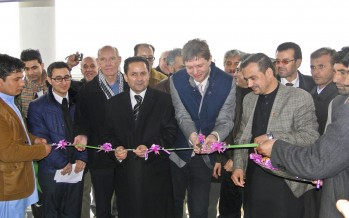 New IARCSC offices built in Baghlan