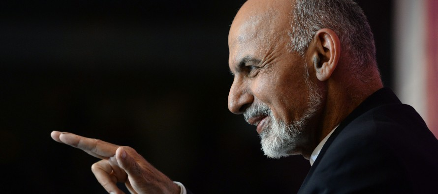 """Our goal is to become a transit country,"" says President Ghani"