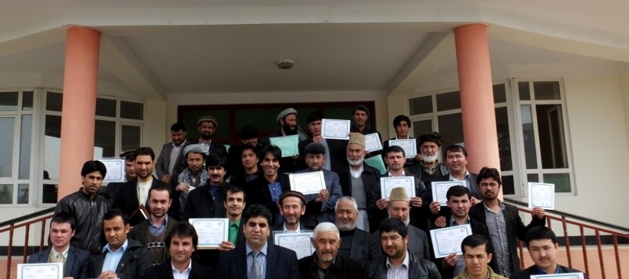 Financial management training conducted in Samangan