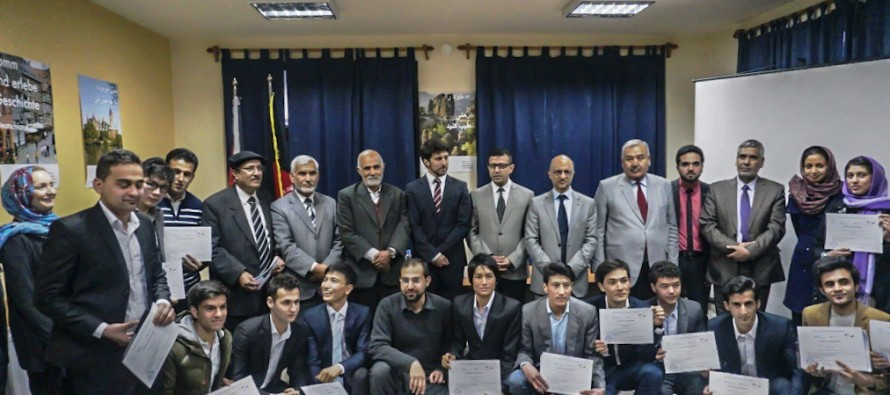 14 Afghan students complete training on mining in Germany