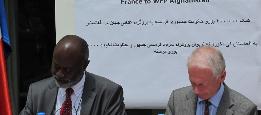 France boosts WFP emergency response in Afghanistan while helping local economy