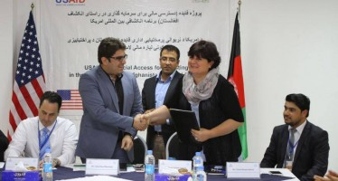 Afghanistan's Insurance Association receives funds from USAID-FAIDA