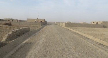 Nimroz districts benefit from development projects