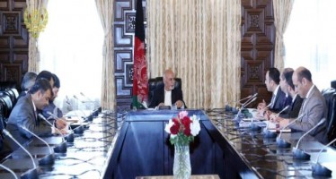 President Ghani calls for reforms in Ministry of Finance