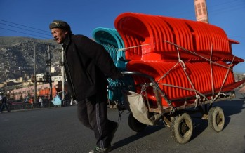 Afghan plastic chair factory emerges to beat foreign competitors