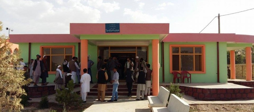 Completion of 39 development projects in Samangan Province