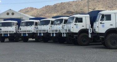 Russia donates 31 trucks to deliver food to Afghans in need