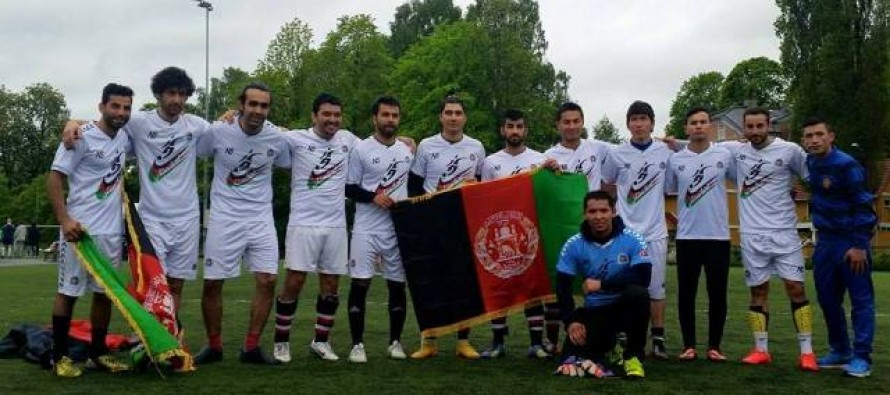 Afghanistan ended 3rd at the Embassy Cup 2015 – Oslo