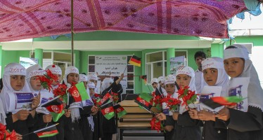 New school in Hamdard village offers opportunities for children of refugees and internally displaced families