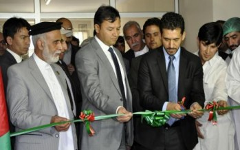 First-ever crop diseases control lab established in Kabul