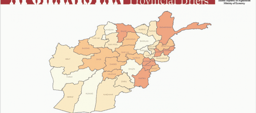 Afghanistan's 2nd Provincial Briefs report released, showing socio-economic progress