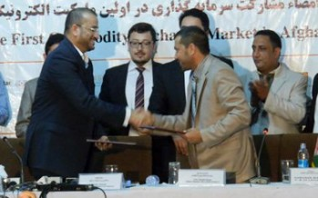 Afghanistan to launch its first online commodity exchange market