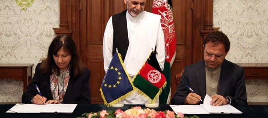 EU, Afghanistan initial Cooperation Agreement on Partnership and Development