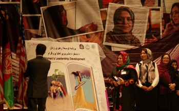 USAID launches leadership skills course for Afghan women