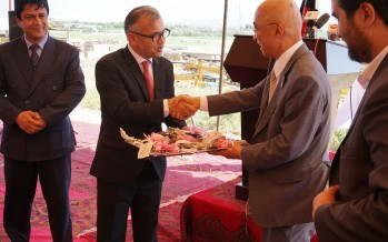 Japan donates 106 machineries to Afghanistan for road maintenance